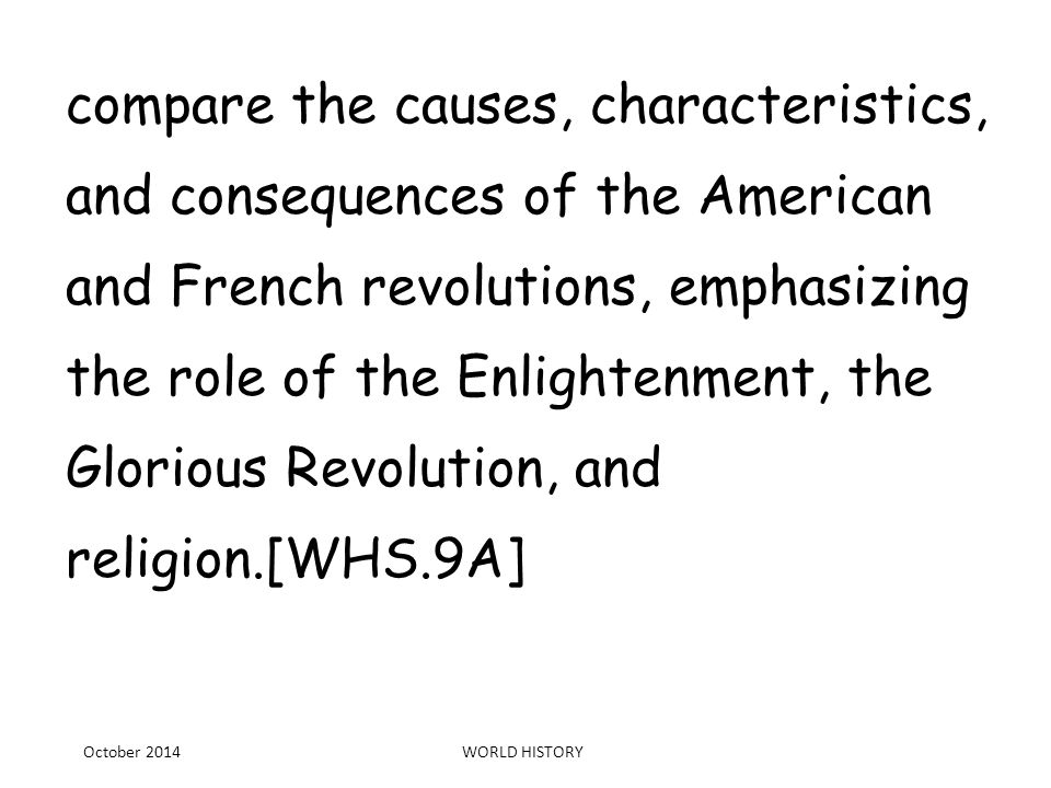 an overview of the events that characterized the french revolution Brief overview of european history  road to revolution (1754 - 1774) the french and indian war  the seven years refers to events in europe,.
